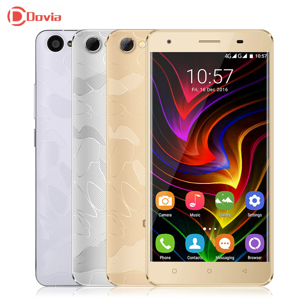 4G Smartphone OUKITEL C5 Pro 5.0 inch Android 6.0 Telephone MTK6737 Quad Core 2GB RAM 16GB ROM Dual Cameras 2000mAh Mobile Phone