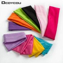 1 шт. Модная стильная впитывающая Пот повязка для волос ярких цветов популярные аксессуары для волос для женщин