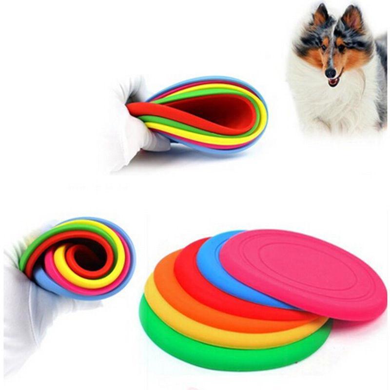 ₪Fresca Fantástico Juguete de Entrenamiento Jugar Frisbee Mascota ...