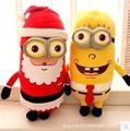 2015 Cute Plush Chrismas minion doll soft chrismas Fashion Gift Cute Toys for Children Baby Children Gift