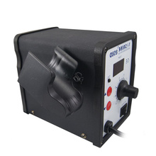 цена на BGA Rework Soldering Station Hot Air Gun 858D 700W Hot Air Desoldering Station 220V or 110V