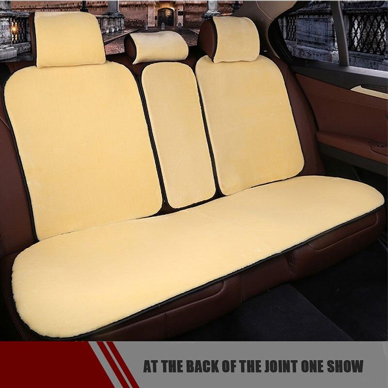 Un ensemble de housses de siège auto universelles de haute qualité pour siège avant et arrière
