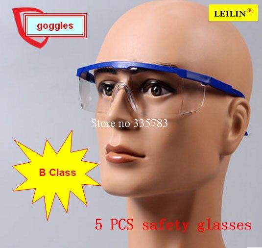 Новый Детская Безопасность Защита глаз Очки очки лаборатории пыли Краски зубные влияние отверждения