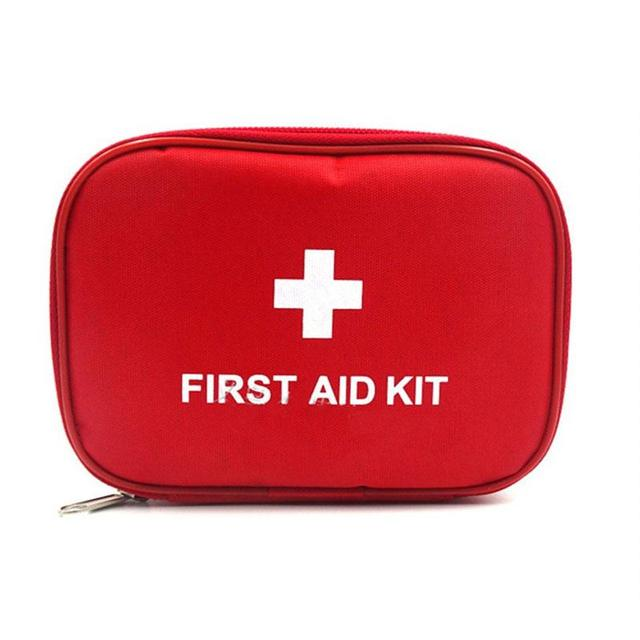 15*11*4 CM Outdoor Travel First Aid kit Mini Car First Aid kit bag Home Small Medical box Emergency Survival kit First Aid bag