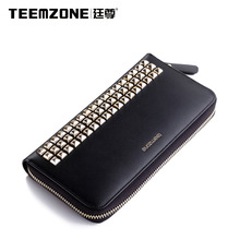 Teemzone Brand Handbag New Women Leather Fashion Clutch Bags Ladies Large Capacity Long Wallet Womens Wallets And Purses