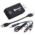 Transmissor de Música sem fio Bluetooth v3.0 3.5mm Stereo Adaptador De Áudio USB