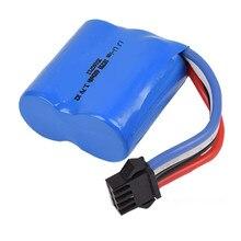 7.4 v (3.7vx2) 600 mah 15C SM-4P UDI001 RC brinquedos bateria 18350 Bateria Li-ion com carregador