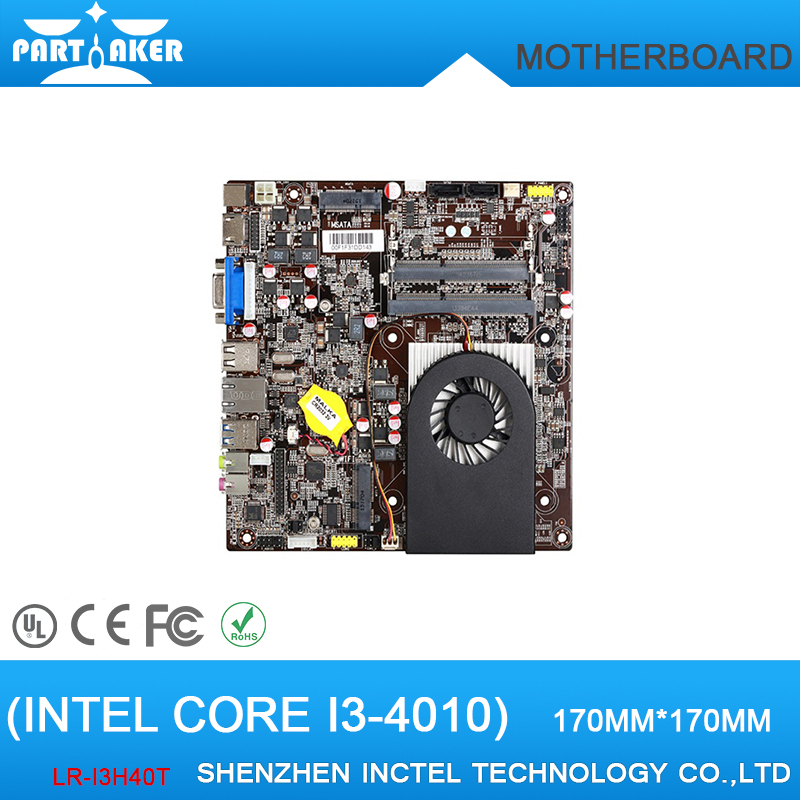 Mini-ITX Motherboard Intel Core i3-4010 Dual Core 1.3G up to 16GB of system memory norm longley tim burford james stewart the rough guide to wales