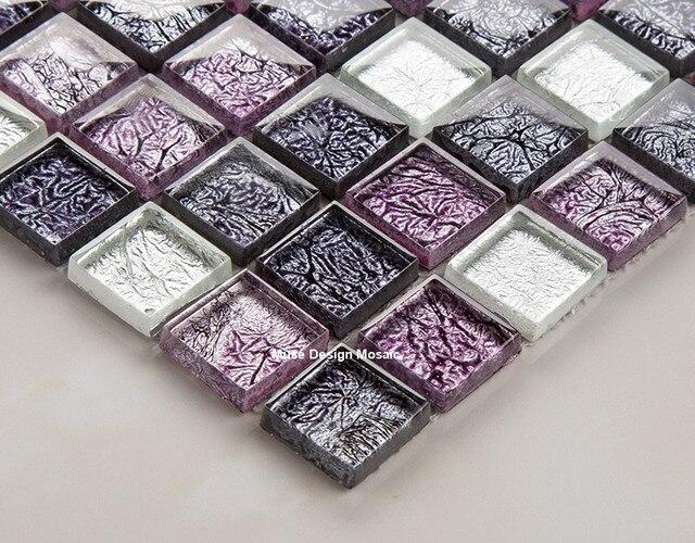 Online shop compresse mistero viola bianco foglio di cristallo