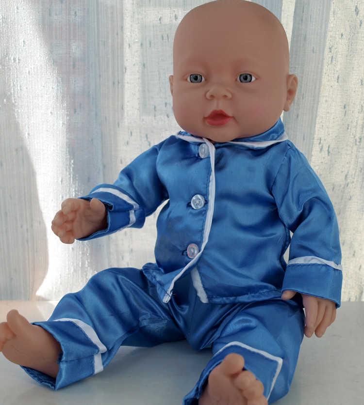 41 см детская кукольная одежда Детские куклы реборн мягкая виниловая силиконовая Реалистичная детская игрушка для новорожденных для мальчиков и девочек подарок на день рождения игрушки
