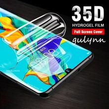 New 35D Full Cover Soft Hydrogel Film For Huawei Mate 20 Lite 10 P 30 Pro Screen Protector Honor 20Pro