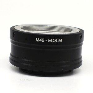 Image 1 - Nhẫn Mount Adapter Cho M42 Gắn Ống Kính Để EOSM EOS M M10 M2 M3 EF M M42 Eosm