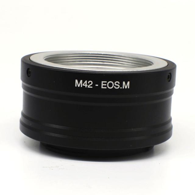 Nhẫn Mount Adapter Cho M42 Gắn Ống Kính Để EOSM EOS M M10 M2 M3 EF M M42 Eosm