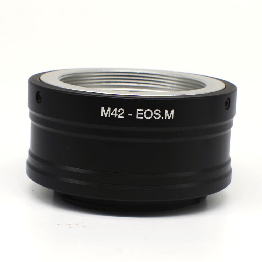 Ring Mount Adapter For M42 Mount Lens to EOSM EOS M M10 M2 M3 EF-M M42-Eosm free shipping fotga c eosm c mount cctv movie lens to canon m mount adapter black