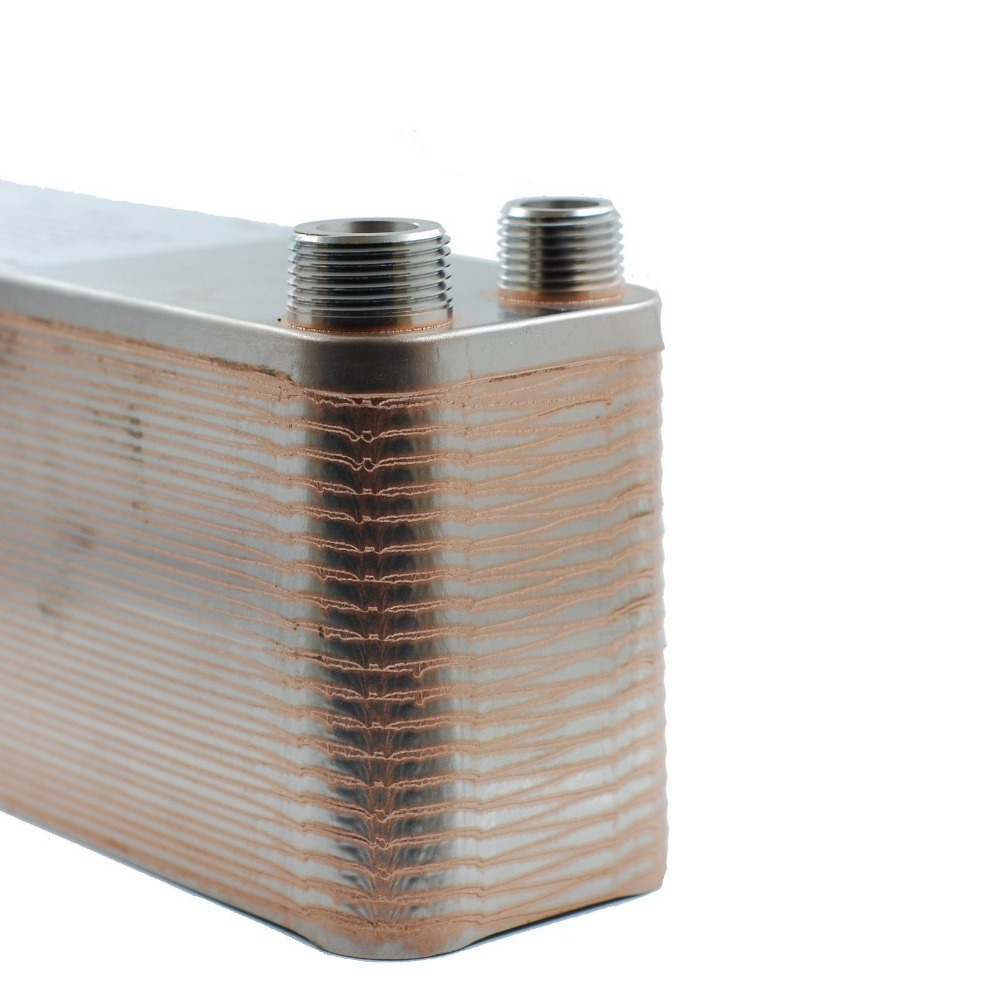 """40 Plate Wort Chiller,12.4""""x2.9"""", SS304, Brewing Chiller  World Free Shipping-in Other Bar Accessories from Home & Garden    3"""