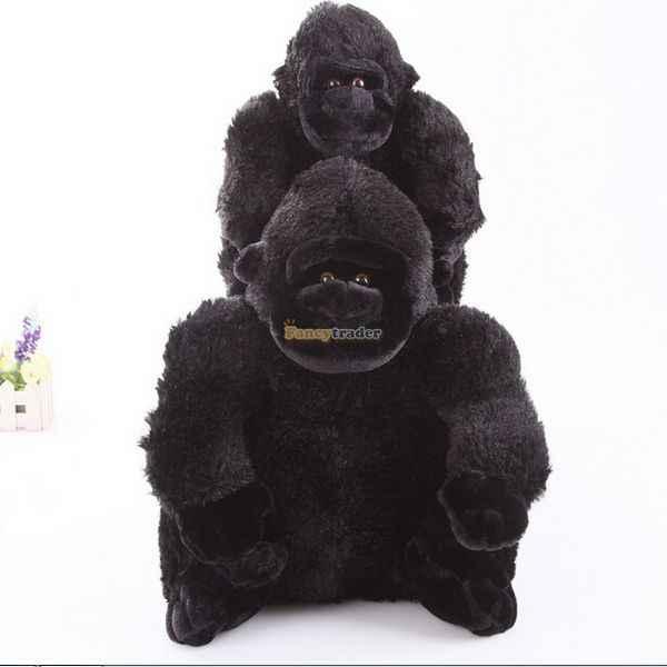 فانسيتريدر لعبة القرد اللطيفة عالية الجودة 33 ''85 سنتيمتر القرد القماشي المحشو القرد ، هدية عظيمة ، شحن مجاني FT90338