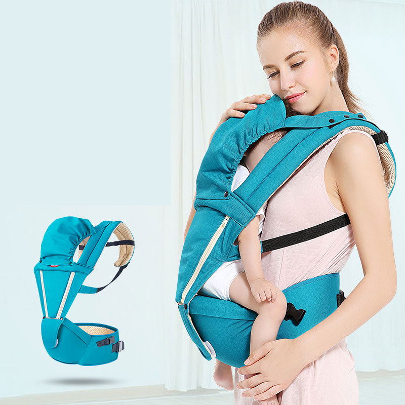 Écharpe porte-bébé chapeau trois en un caractéristiques porte-bébé ergonomique bébé Hipseat fronde avant face écharpe porte-bébé pour voyage