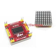 Красный СВЕТОДИОД MAX7219 матричный модуль микроконтроллера модуль DIY KIT