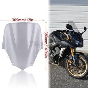 Image 3 - لياماها FZ1 Fazer FZ1S FZS1000S الدراجة دراجة نارية دراجة نارية الزجاج الأمامي/الزجاج شفافة 2006 2011 2007 2008 2009 2010