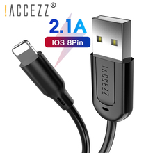 !ACCEZZ USB Charge Cable For iPhone 7 8 Plus X XR XS Max Tablet Fast Charging Charger Data Lighting Long Short Cables 30CM 1M 3M