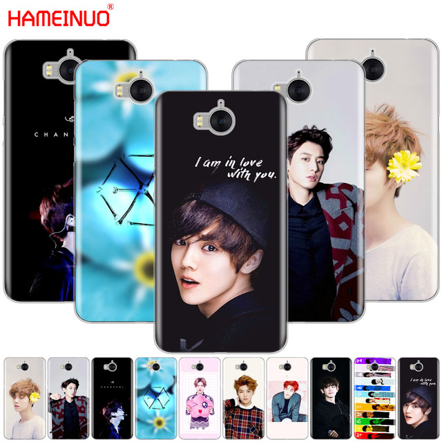 c84d4f0ca9bf HAMEINUO Kpop exo LUHAN Park Chanyeol cell phone Cover Case for huawei honor  3C 4X 4C 5C 5X 6 7 Y3 Y6 Y5 2 II Y560 2017
