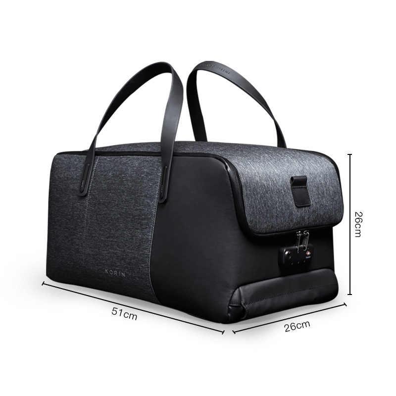 Krion FlexPack | лучшая функциональная Противоугонная спортивная сумка и рюкзак, мужские дорожные сумки, модная крутая сумка
