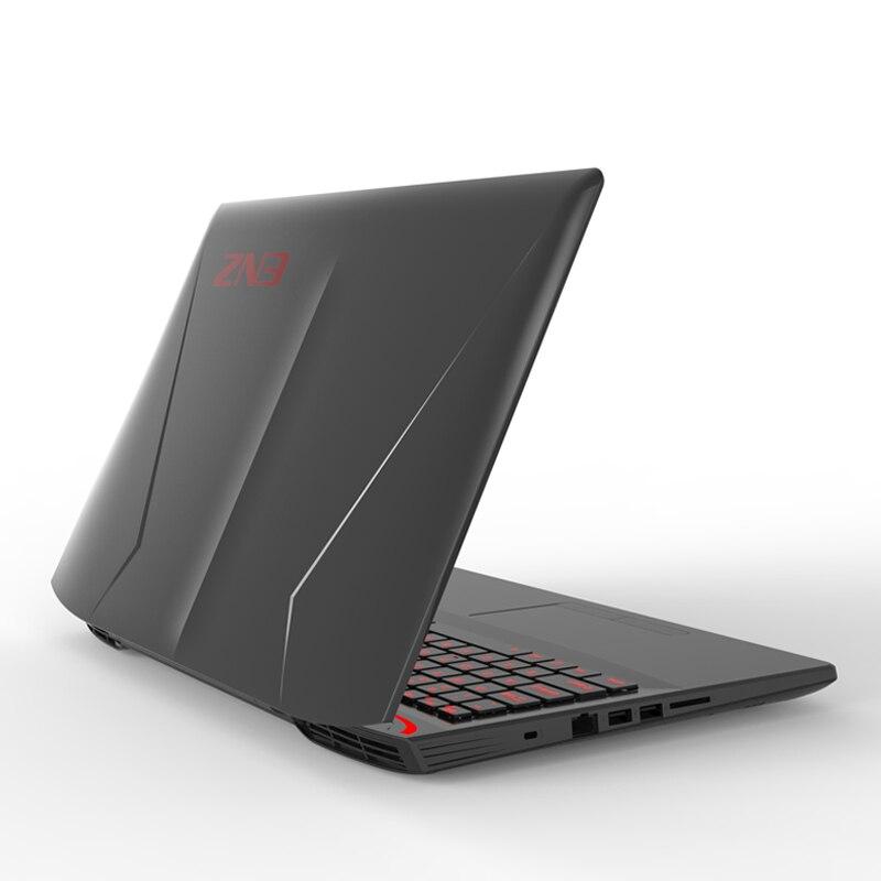 Juegos de gama alta portátil Core i7 6700HQ GTX1060 6g gráficos discretos 15,6 pulgadas 1920*1080 HD 4G RAM 32 GB SSD