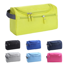 цена на New Fashion Women Makeup Bag Nylon Waterproof Men Hanging Make Up Organizer Travel Cosmetic Bag Wash Toiletry Case Necessaire