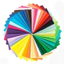 40 colors New Solid Tissus Cotton Fabric Fabrics Sewing Patchwork Chiffon Packages Quarter Pillow DIY Crafts 10 * CM