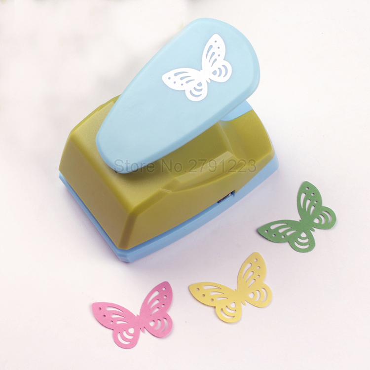 4 5cm Butterfly 3d Shape Large Craft Paper Punch Board