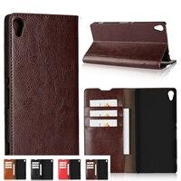 Deluxe Wallet Case For Sony Xperia XA Ultra For Sony Xperia XA Case Premium Leather Case