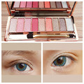 Cosmetics New 9 Colors Eyeshadow Palette Matte Earth Color Eye Shadow Makeup Professional For Women With Brush