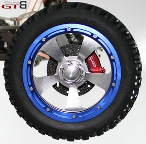 Image 4 - 1/5 rc car gas GTB racing 4 wheel hydraulic disc brake for 1/5 Scale gas baja 5B 5T 5SC GR077 free shipping rc car