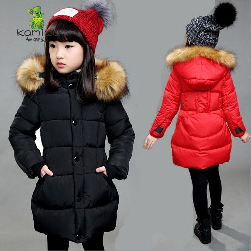 girls coats and jackets kids cotton padded jacket waterproof thick ...