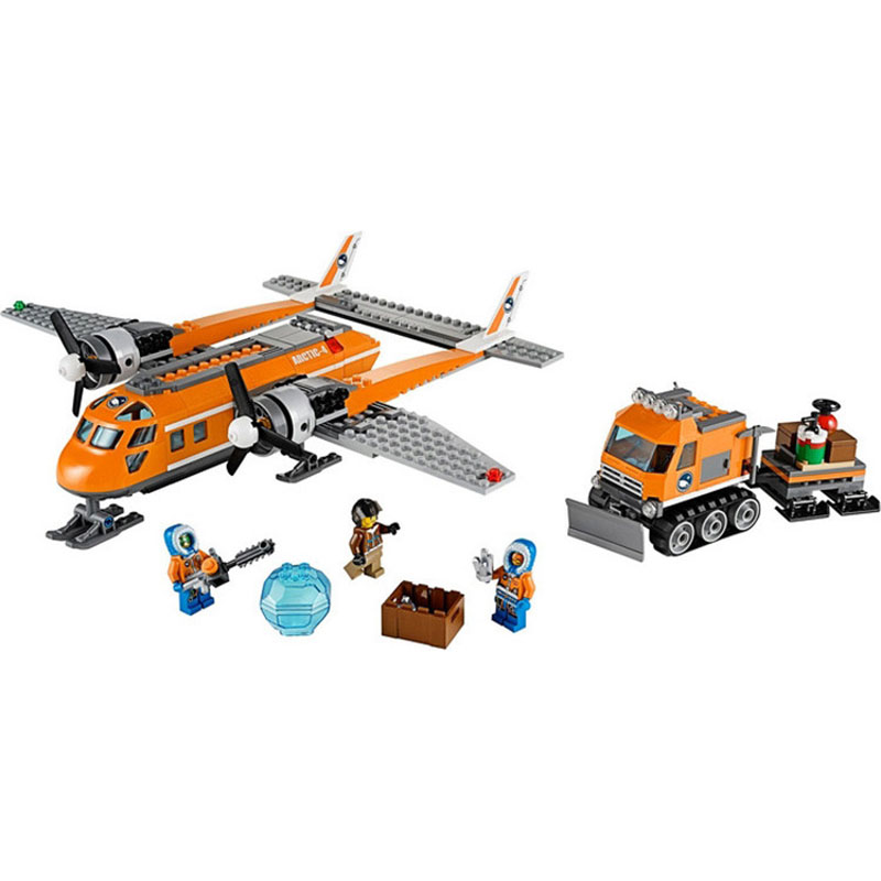 Lepin Pogo Bela Arctic Snowmobile Explore Camp Transport Plane Urban Police City Building Blocks Bricks Compatible Legoe Toys compatible lepin city block police dog unit 60045 building bricks bela 10419 policeman toys for children 011