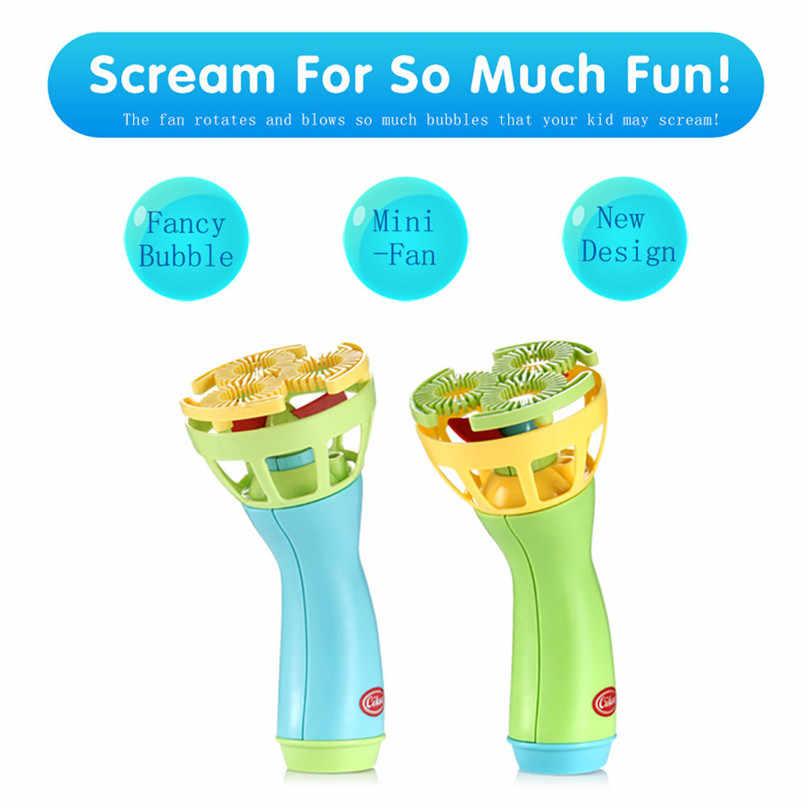 Электрический Bubble Wands машина устройство для мыльных пузырей автоматический воздуходув открытый игрушки для детей Дети пищевые продукты длительного хранения flacon bulle 4JJ