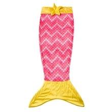 Здесь можно купить   Kids Mermaid Tail Blanket Fleece Doulde Stitching Boys Girls Sleeping Bag Super Soft Mermaid Tail Blanket For Kids 2-12 y Bedding