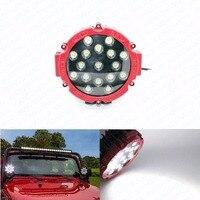 51 W Auto Okrągły LED Work Light Spot High Power 4x4 Offroad samochód Oświetlenie Robocze Ciężarówka ATV SUV Mgła Lampa Jazdy Head light