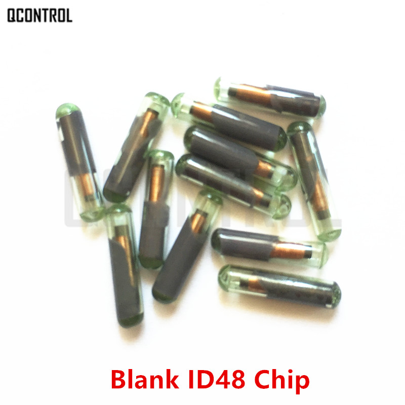 QCONTROL Car Transponder Chip ID48 for VW/Skoda/Seat/Audi/Honda (New / Blank / Not Coded)
