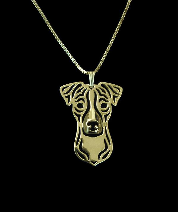 DANGGAO fashion Newest Handmade Jack Russell Terrier pendant Necklace women chain choker necklace Dog Jewelry Pet Lovers Gift