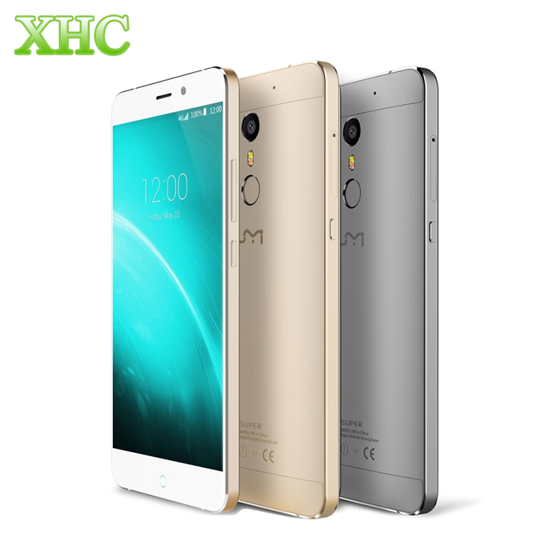UMI SUPER Fingerprint ID 5 5 Mobile phone Android 6 0 Helio P10 MTK6755 Octa Core