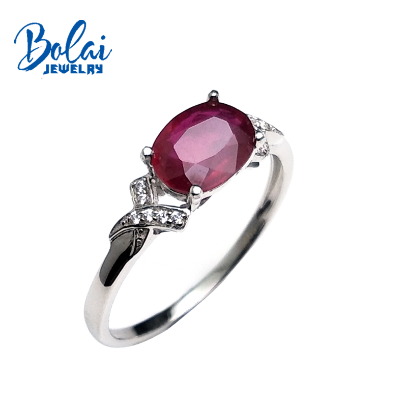 bolai,small natural Ruby in 925 sterling silver comfortable ringer rings for women wedding anniversary or daily wear best gift. wwd women s wear daily 2012 11 26