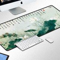 Hoge Kwaliteit Rubber Grote Laptop Gaming Muismat Vergrendeling Rand Anime Mousepad voor Dota2 Mat Diablo CS CF FPS 90*40 Cm Muis Pad