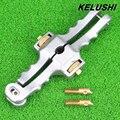 KELUSHI Abertura Longitudinal Cuchillo Cortadora Cubierta Del Cable De Fibra Óptica Cable De Fibra Óptica Stripper SI-01