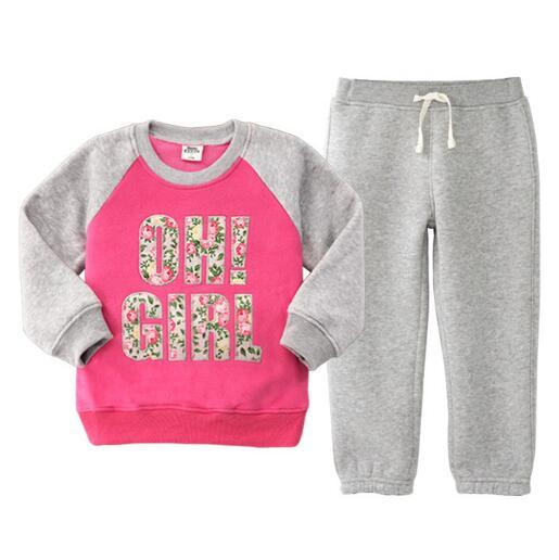 2017 мода orangemom дети комплект одежды, супер качество спортивный костюм детей костюм детская одежда для девочек весна одежда