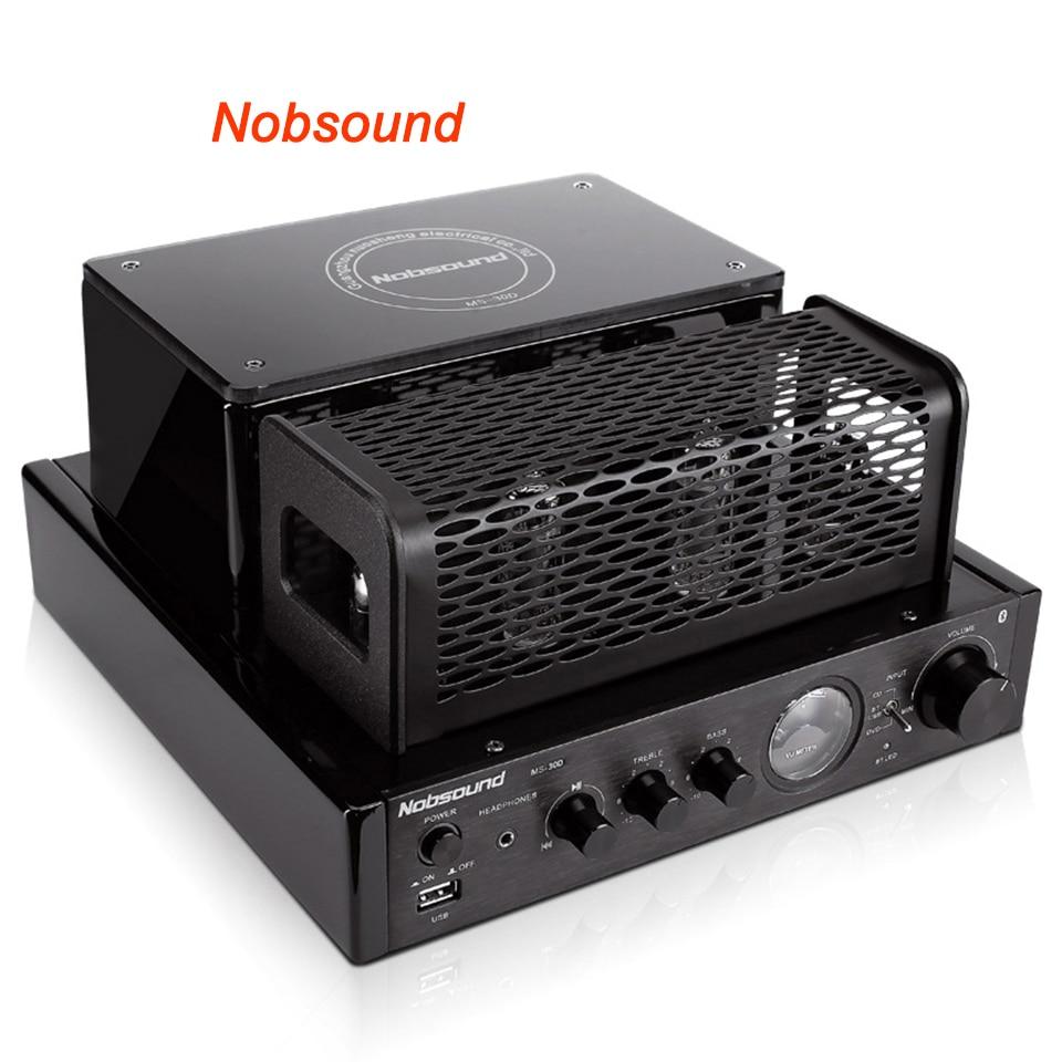 Nobsound MS-30D Bluetooth Output power 25W Electron tube amplifier HIFI bile machine amplifier USB nobsound ms 30d bluetooth output power 25w electron tube amplifier hifi bile machine amplifier usb
