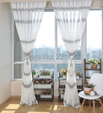 online kaufen gro handel wei transparent vorh nge aus china wei transparent vorh nge. Black Bedroom Furniture Sets. Home Design Ideas