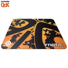 Бесплатная доставка Steelseries QCK + Fnatic Pro Gaming Mouse Pad 450*400*4, игровой коврик, Dota 2 OEM SteelSeries коврик для мыши