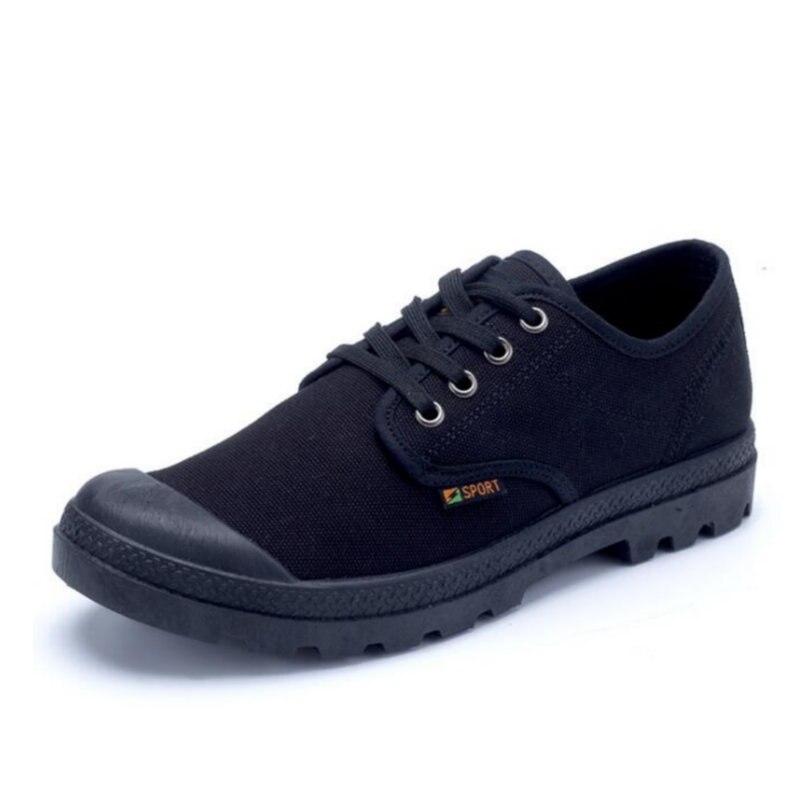 ECTIC 2018 Pria sepatu kanvas baru musim panas Fashion pria sepatu - Sepatu Pria - Foto 3