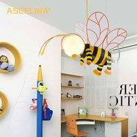 ASCELINA pendant lamp Bee Cartoon Pendant Light lampshade Modern Creativity lighting Night Lights for children bedrooms